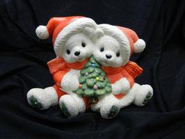 Weihnachtsbärenpaar