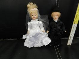 """Puppenpaar """"Hochzeitspaar"""""""