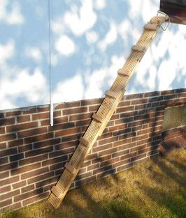Katzenleiter 14,5 cm BREIT! stabiles Douglasie-Holz. Verschiedene Befestigungen! Frei wählen