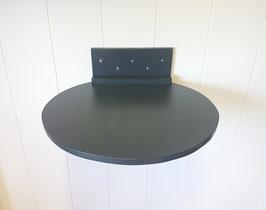 Runde Liegefläche mit 50 cm/ oder 60 cm Durchmesser.