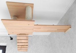 Deckenabhängung Set / Katzen Kletterlandschaft