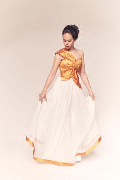 Kleid Orangenblüte