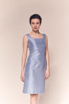 Kleid Carlotta, Seide hellblau