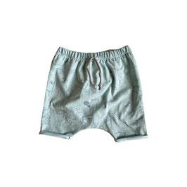 Harem Shorts mit Waldtieren in der Größe 80