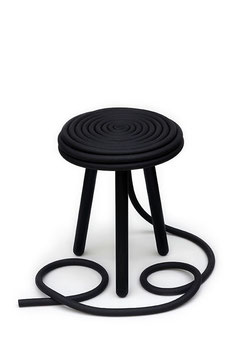 Lakritz Hocker – Liquorice Stool