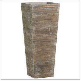 ⑨【鉢カバータンダード木製タイプ】観葉植物7号鉢用