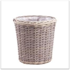 ⑤【鉢カバースタンダード籠タイプ】観葉植物8号鉢用