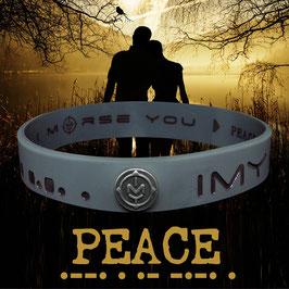 "No. 5  ""PEACE"", in Mountain Gray"