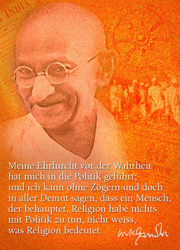 Gandhi: Religion und Politik