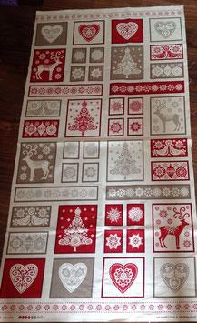 Patchwork Stoff Panel /  Weihnachten