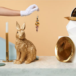 TIRELIRE LAPIN GOLD
