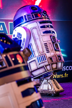 [ R2D2 Gaumont 160 ] TIRAGE PHOTO ENCADRÉ PAR LWOOD