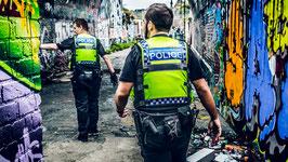 [ London Cops 039 ] TIRAGE PHOTO ENCADRÉ PAR LWOOD