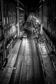 [ Urban Lisboa 703 ] TIRAGE PHOTO ENCADRÉ PAR LWOOD