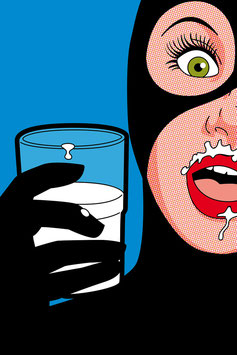 "MILKY CAT PAR GREG ""LÉON"" GUILLEMIN"