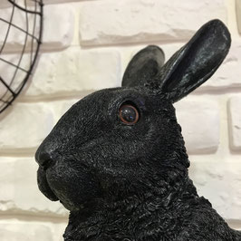 TIRELIRE LAPIN GOLD/BLACK