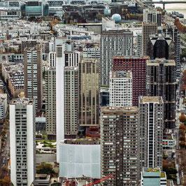 [ Urban Paris 004 ] TIRAGE PHOTO ENCADRÉ PAR LWOOD