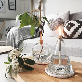 LAMPE À HUILE CÔNE PERIGLASS