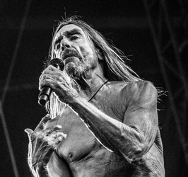 [ Iggy Pop - Live Music 010 ] TIRAGE PHOTO ENCADRÉ PAR LWOOD