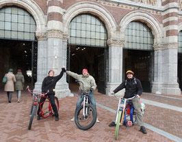 Gegidste fietstocht in Amsterdam