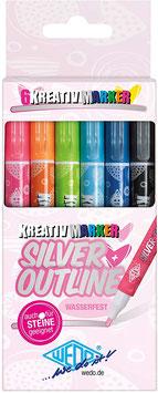 Marker Silver+Outline