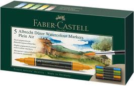 """Faber Castell, Albrecht Dürer, 5er Etui """"Plein Art"""""""
