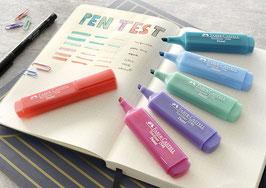 Faber Castell Textmarker TEXTLINER pastell