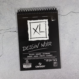 CANSON, XL Dissin Noir, black, DIN A5