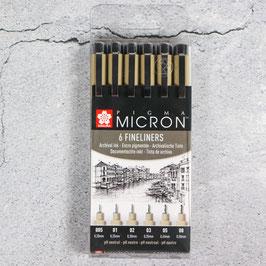 Sakura Sigma Micron Fineliner-Set
