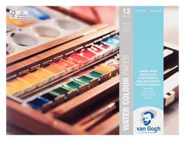 VanGogh Aquarellpapier, 24x32 cm
