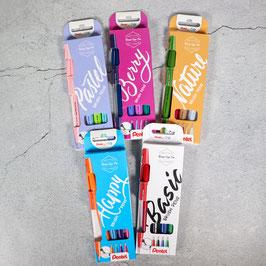 Pentel Sign Pen Brush, 4er-Set