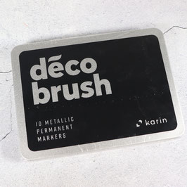 Karin DecoBrush Metallic Box