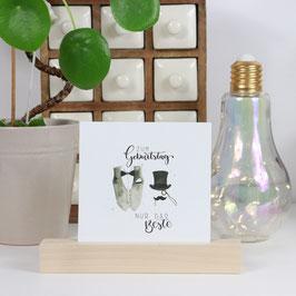 Postkarte quadratisch - für jeden Anlass