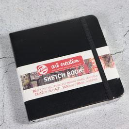 "Royal Talens ""art creation"" SketchBook, 12x12 cm, schwarz"