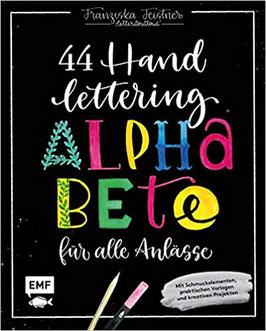 44 Handlettering Alphabete für alle Anlässe