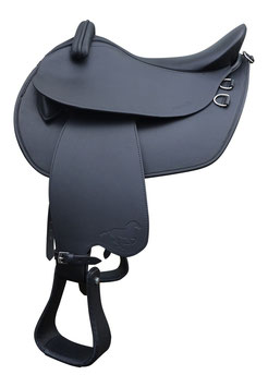 HIDALGO Dakar Leather Tree Trekking Saddle