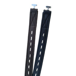 HIDALGO Mono stirrup leathers with T-hook