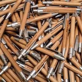 """Holz Kugelschreiber """"NEIDAFFER PLATTLCLUB"""" 1 Stück"""