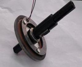 Kraftsensor mit Achse
