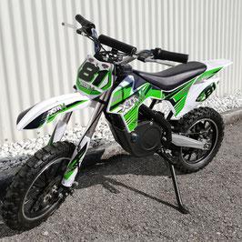 Kinder Elektromotorcross grün 500 W