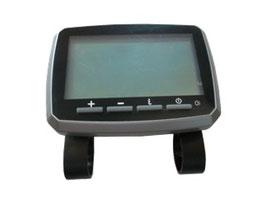 LCD-Display Lenkermitte inkl. Haler