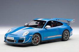2011 Porsche 911 997 GT3-RS 4.0 blue 1:18