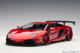 2015 Lamborhini Aventador LB-works metallic red 1:18