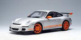 2006 Porsche 911 997 GT3-RS silver-orange 1:18