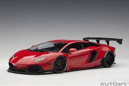2015 Lamborhini Aventador LB-works red 1:18
