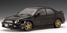 2001 Subaru Impreza WRX STI black 1:18