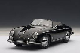 1955 Porsche 356A Speedster black 1:18