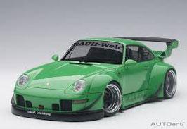 20?? Porsche 911 993 RWB green 1:18