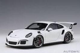 2015 Porsche 911 991 GT3-RS white 1:18