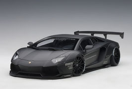 2015 Lamborghini Aventador LB-works black matt 1:18